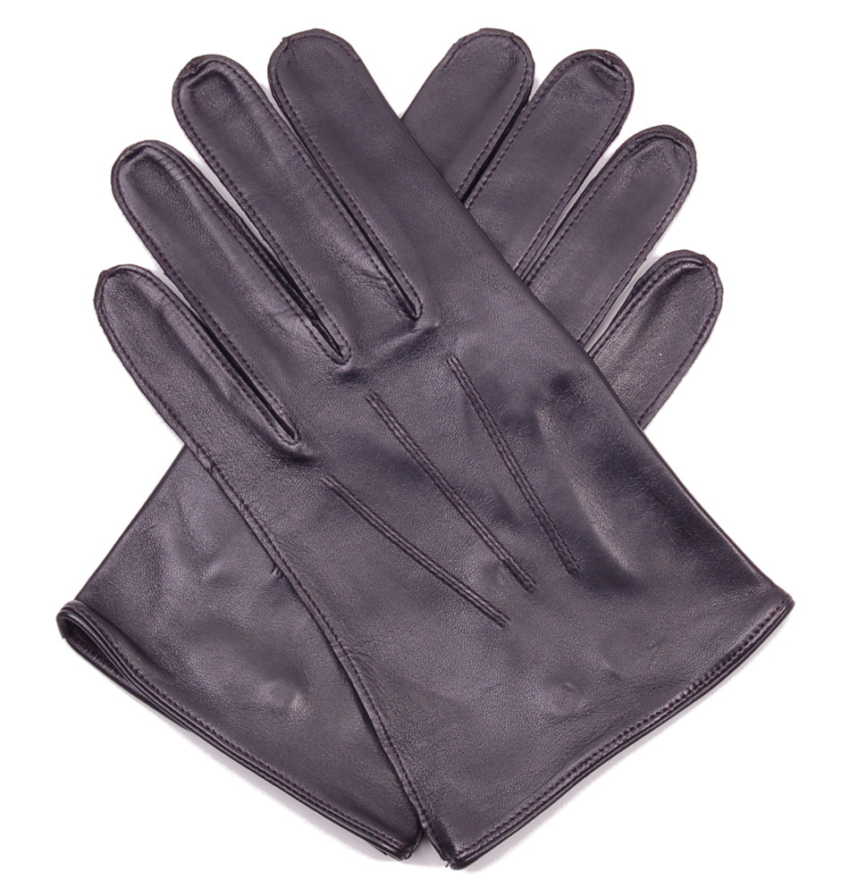 James bond leather driving gloves - Men S Black Leather Professional Driving Gloves By Dents